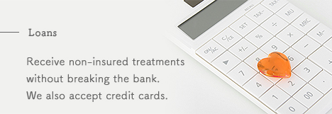 Receive non-insured treatments without breaking the bank. We also accept credit cards.